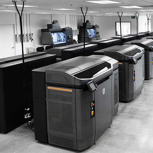 HP Jet Fusion 4200 3D solution at Forecast 3D Manufacturing Facility