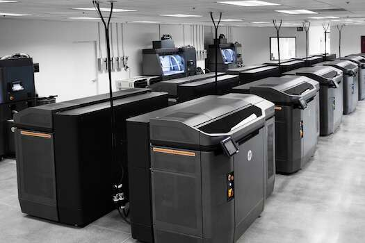HP Jet Fusion 3D 4200l The new 4210 solution includes updates for existing Jet Fusion systems. Photo courtesy: HP.