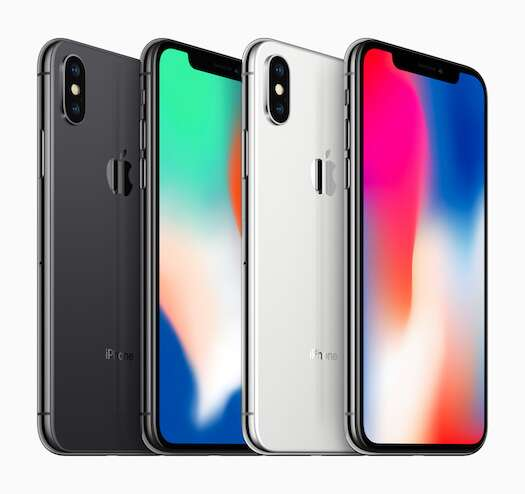 iPhone X. Photo courtesy: Apple