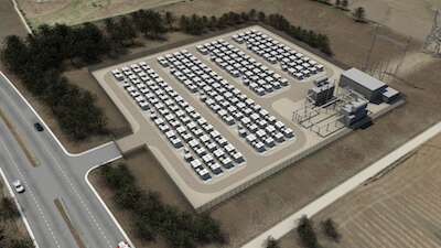 Tesla hopes to build grid-scale battery plants at locations around the world. (Photo: Tesla).