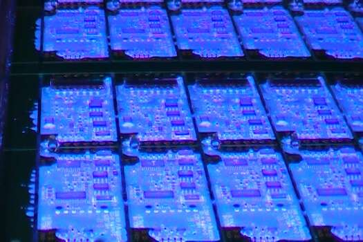 Conformal coating. Photo courtesy: Z-Axis