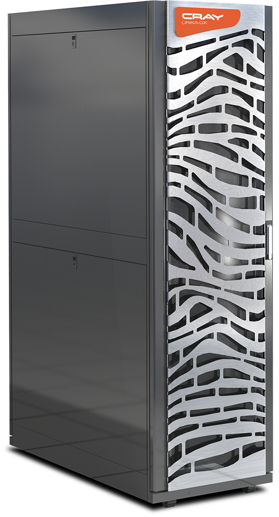 The Cray Urika-GX with pre-integrated Cray Graph Engine (CGE) for pattern-matching capabilities will be the initial supercomputer-as-a-service offered with Cray's entire line to follow. (Source: Cray)