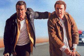 Sometimes freedom isn't free, as Robert DeNiro (left) learns in Midnight Run.