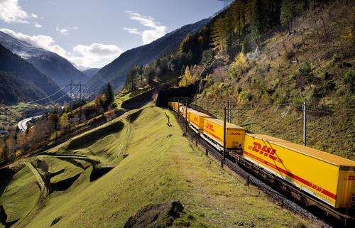 DHL sees a future in railroad transportation from China to Europe.