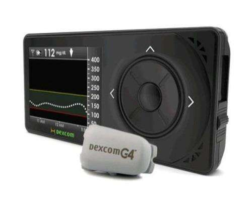 The Dexcom G4 glucose monitoring system provides continuous readout of blood sugar levels.(Source: Dexcom)