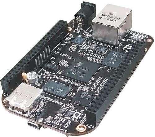 Electronic design trends include the use of open-source hardware designs and the open-source schematic and PCB layouts that accompany these designs. (Image shows a BeagleBone Black.)