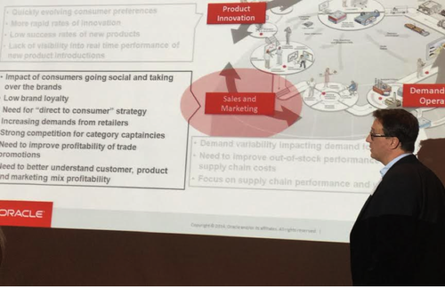 Hanza Andersson explains supply chain performance and customer and product value. Image: Susan Fourtané