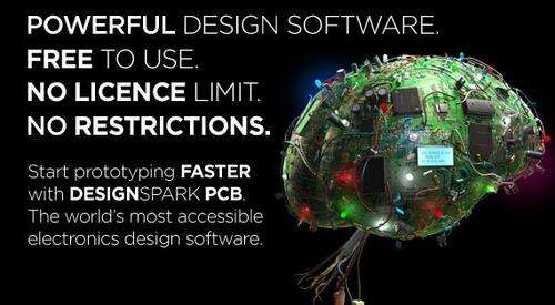 DesignSpark PCB: Circuit design with PCB layout in one package.
