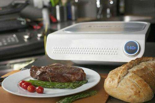 The Palate Home Smart Grill promises sous-vide cooking with consumer ease.