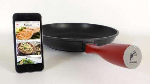 Pantelligent puts sensors in a frying pan controlled by a smartphone app.