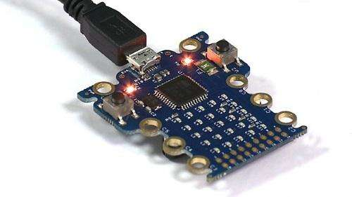The BBC Micro Bit is still a prototype and he details of its design a secret.