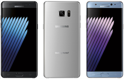 Samsung Galaxy Note 7 (Source: Samsung)
