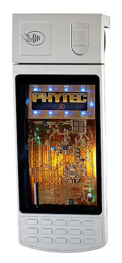 A 3D-printed PCB sample. Image courtesy: Phytec