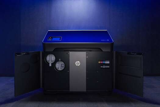HP's new Jet Fusion 300 / 500 3D printing solution for functional prototyping and short run production. (Image courtesy: HP)
