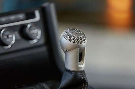 Volkswagen Gear Shift Knob printed with HP Metal Jet technology. Image courtesy: HP