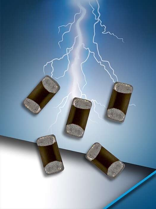 AVX GiGuard ESD suppression diodes.