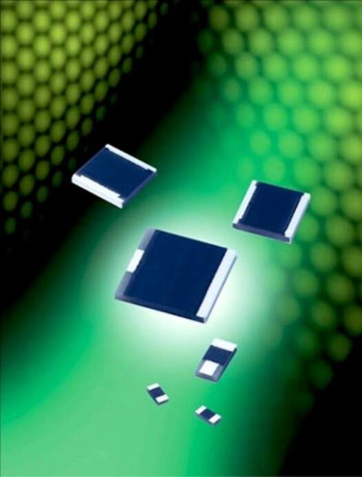 AVX RP9 Series high-power surface-mount chip resistors
